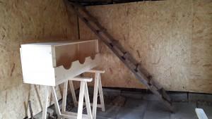 Hühnerstall Umbau fertig 2
